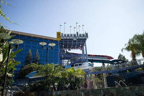 Disneyland Hotel by HarshLight, on Flickr